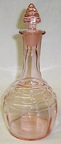 Paden City Pink 191 CHERIGLO 9 1/2 DECANTER w/STOPPER