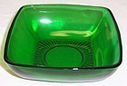 Anchor Hocking Fire King Green CHARM 4 1/2 BERRY BOWL