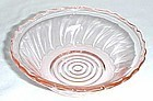 Jeannette Depression Pink SWIRL 5 1/2 Inch CEREAL BOWL