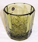 Westmoreland Green PANELED GRAPE OLD FASHION TUMBLER