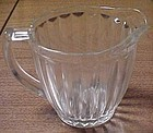 Jeannette Crystal Depression JENNYWARE 5 1/2 In PITCHER