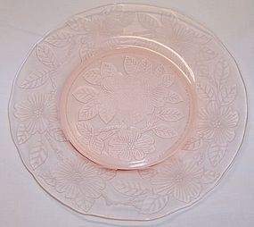 MacBeth Evans Pink DOGWOOD 8 Inch LUNCHEON PLATE