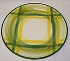 Metlox Vernon Ware GINGHAM 9 3/4 Inch LUNCHEON PLATE