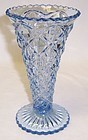 Imperial Glass Blue LITTLE JEWEL 6 Inch FLARED VASE