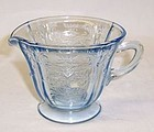 Federal Blue MADRID Depression Glass CREAMER