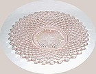 Westmoreland Pink ENGLISH HOBNAIL 8 1/2 In SALAD PLATE