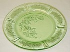 Federal Green SHARON CABBAGE ROSE 7 1/2 In SALAD PLATE