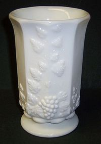 Westmoreland PANELED GRAPE 6 Inch CELERY VASE