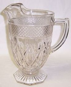 Imperial Crystal CAPE COD 9 1/2 Inch Ftd WATER PITCHER