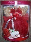 1988 Mattel White HAPPY HOLIDAY BARBIE-1st In Series-OB