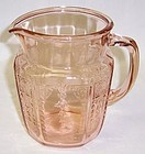Hocking Pink PRINCESS 37 Ounce JUICE PITCHER