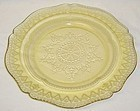 Federal Amber PATRICIAN SPOKE 9 In LUNCHEON PLATE