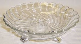 Fostoria Crystal COLONY 6 1/2 In 3 Footed BON BON DISH