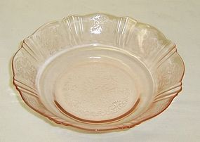 MacBeth Evans Pink AMERICAN SWEETHEART CEREAL Bowl