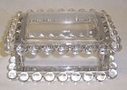 Imperial Crystal CANDLEWICK CIGARETTE BOX with LID