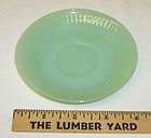 Anchor Hocking Jadeite Jade JANE RAY Demitasse SAUCER