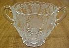 Cambridge Crystal ROSE POINT 3900/41 3 Inch SUGAR BOWL