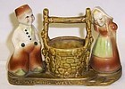 Shawnee USA WISHING WELL Planter DUTCH BOY and GIRL