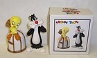 Looney Tunes 93 TWEETY BIRD-SYLVESTER Salt and Pepper