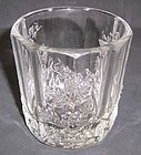 Westmoreland Crystal PANELED GRAPE 3 1/4 OLD FASHION