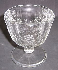 Westmoreland Crystal PANELED GRAPE 3 In LOW SHERBET