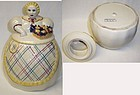 Abingdon GRANNY 9 1/2 Inch Hand Painted COOKIE JAR USA