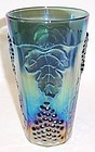 Indiana Blue Carnival HARVEST GRAPE 5 3/4 Inch ICE TEA TUMBLER