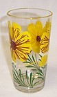 Unknown Maker PEANUT BUTTER 5 In Yellow  Brown COSMOS Tumbler