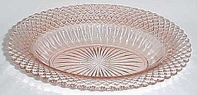 Hocking Depression Pink MISS AMERICA 10 Inch OVAL BOWL