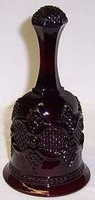 Avon Ruby Red 1876 CAPE COD 6 3/4 Inch High BELL