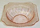 Jeannette Pink ADAM Depression Glass 4 3/4 Inch BERRY or DESSERT BOWL