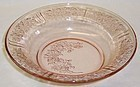 Federal Pink SHARON CABBAGE ROSE 7 1/2 In FLAT SOUP BOWL