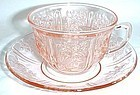 Federal Pink SHARON CABBAGE ROSE CUP and SAUCER