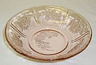 Federal Pink SHARON CABBAGE ROSE 6 Inch CEREAL BOWL