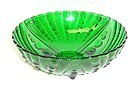 Anchor Hocking Fire King Forest Green BURPLE 8 3/8 Inch LARGE BOWL