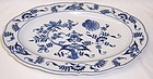 Blue Danube Japan 12 Inch Oval SERVING or MEAT PLATTER