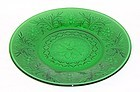 Anchor Hocking Forest Green SANDWICH 9 Inch DINNER PLATE