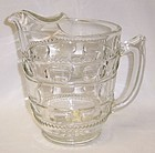 Indiana Crystal Clear KINGS CROWN 8 Inch Flat ICE LIP WATER PITCHER