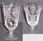 Heisey Crystal ORCHID 6 1/2 Inch Number 5025 ICE TEA TUMBLER