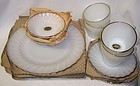 Anchor Hocking Fire King GOLDEN SHELL 16 Piece STARTER SET