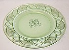 Federal Green ROSEMARY DUTCH ROSE 9 3/8 Inch DINNER PLATE