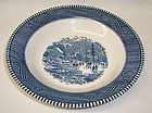 Royal China CURRIER and IVES Early Winter 8 1/2 Inch SOUP BOWL
