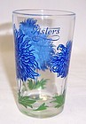 Unknown Maker PEANUT BUTTER 3 3/4 In JUICE GLASS - Blue ASTERS