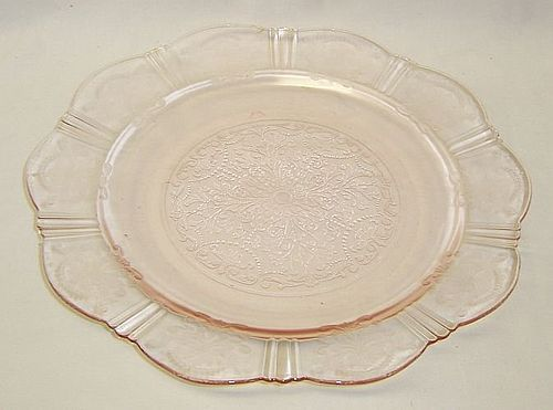 MacBeth Evans Pink AMERICAN SWEETHEART 9 3/4 Inch DINNER PLATE