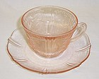MacBeth Evans Pink AMERICAN SWEETHEART CUP and SAUCER