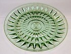 Jeannette Depression Green WINDSOR DIAMOND 9 Inch DINNER PLATE