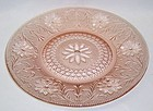 Indiana Tiara Pink SANDWICH 10 Inch DINNER PLATE