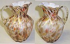 Fenton Autumn Orange END of DAY 5 1/2 Inch MILK PITCHER