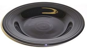 Homer Laughlin Black FIESTA 8 3/4 In FLANGED SOUP BOWL