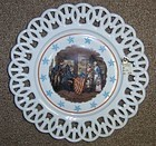Westmoreland Milk Glass BETSY ROSS- FIRST FLAG Plate